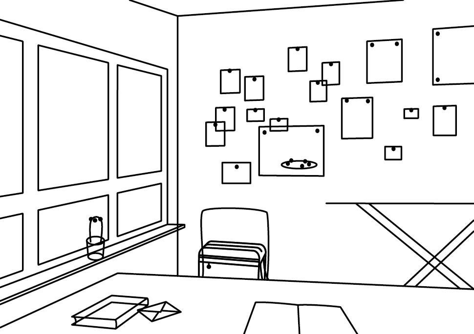 Zeichnung: Reisehund | Atelier