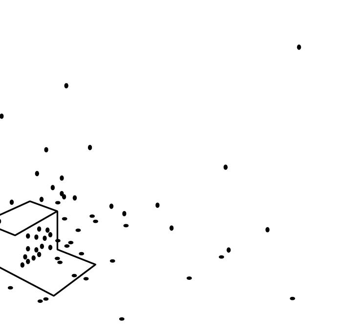 Zeichnung: Reisehund | Box Room