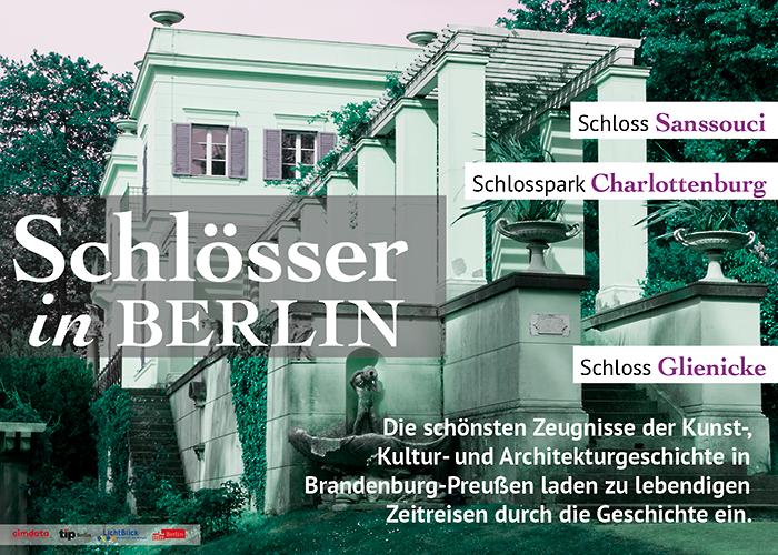 Plakat: Schlösser in Berlin