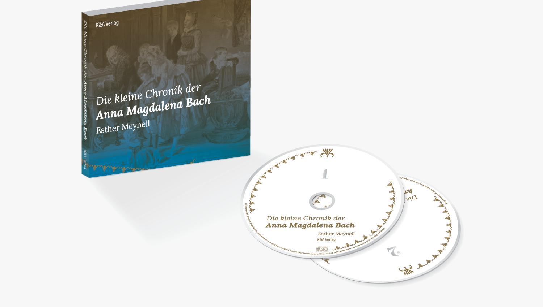 Buchgestaltung einer Hörbuch-Reihe: Anna Magdalena Bach