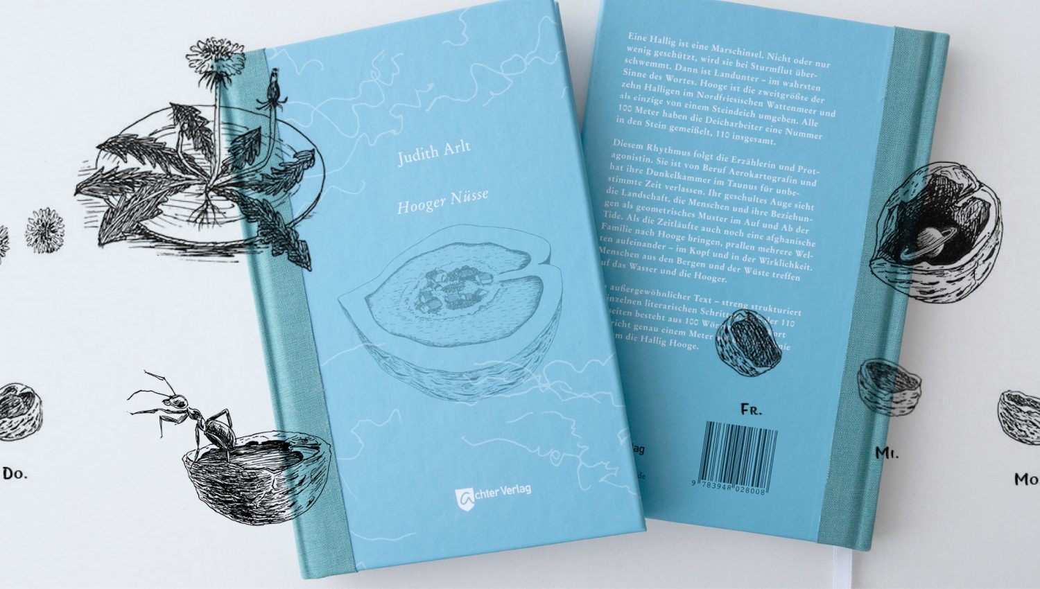bookcover design, Illustration, Achetr Verlag