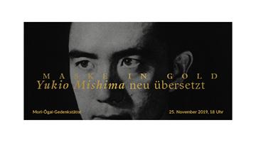 Flyerdesign Mishima Neuübersetzung