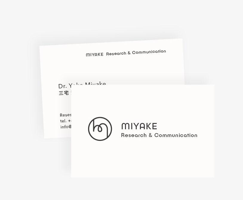 Visitenkarte-Entwurf MRC