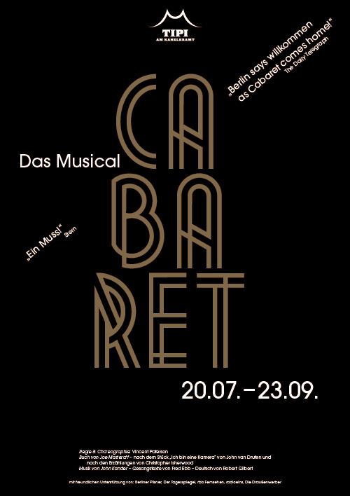 Plakatdesign Musical