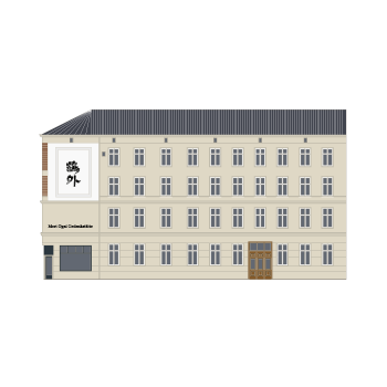 Ogai-Haus Illustration