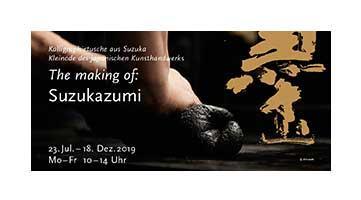 Einladungskartegestaltung Ausstellung Suzukazumi